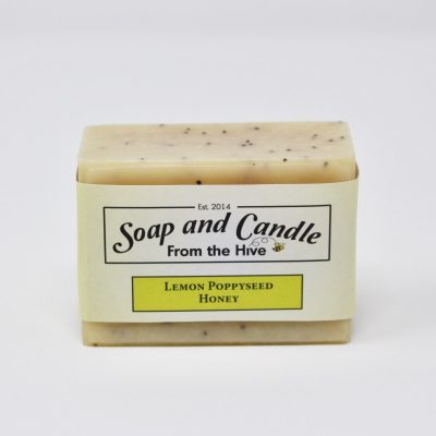 Lemon Poppyseed Honey Soap
