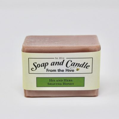 His and Hers Shaving Honey Soap