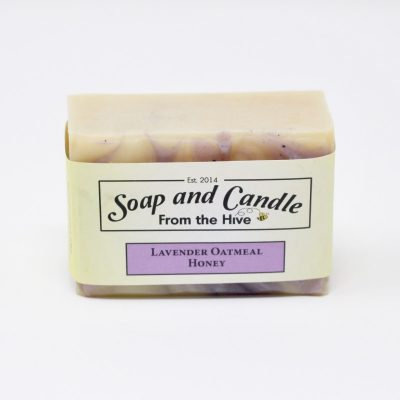 Lavender Oatmeal Honey Soap