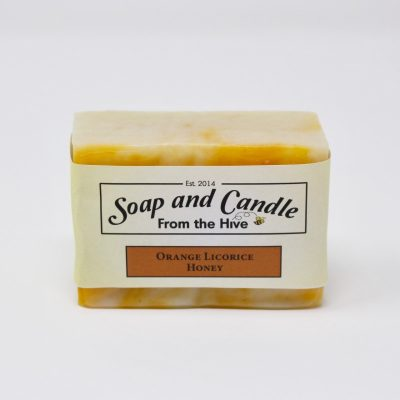 Orange Licorice Honey Soap