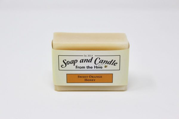 Sweet Orange Honey Soap