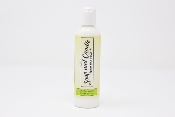 Lime Spearmint Honey Lotion